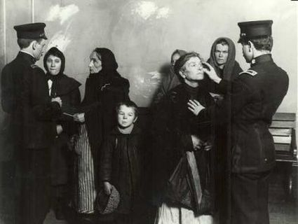Medical Exam - Medical Inspection at Ellis Island